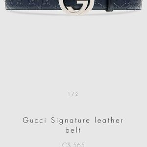 Gucci Accessories - Belt